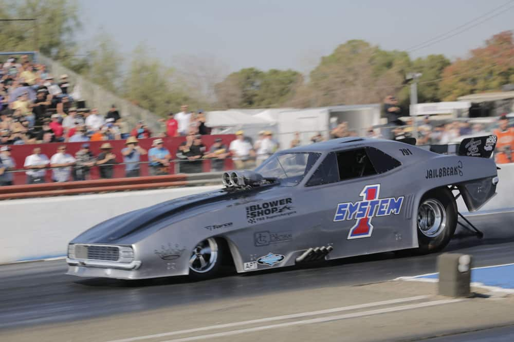 Jailbreak - Brad Thompson Funny Car - The Blower Shop